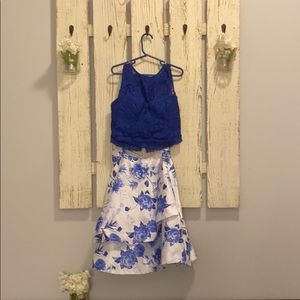 Formal two piece dress